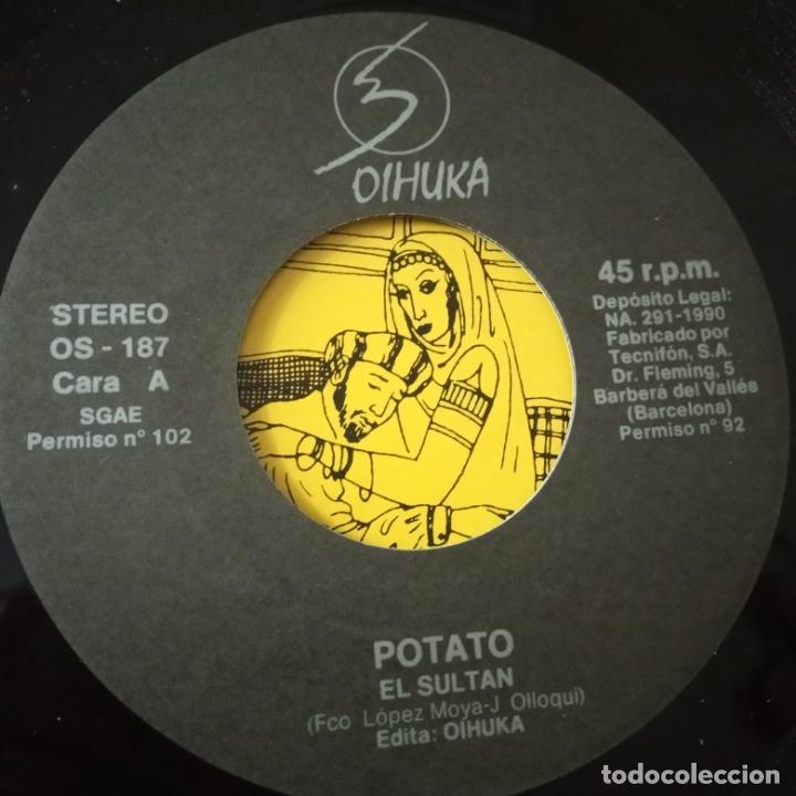 Discos de vinilo: POTATO- EL SULTAN - SINGLE 1990 - COMO NUEVO. - Foto 3 - 166973484