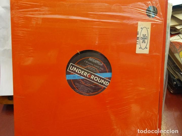 BJS.DISCO DE VINILO.LP.ANTICAPELLA.UNDERGROUND. (Música - Discos - LP Vinilo - Otros estilos)