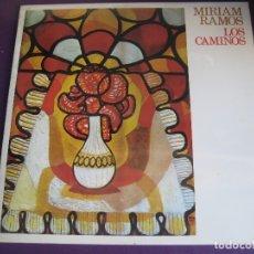 Discos de vinilo: MIRIAM RAMOS LP MOVIEPLAY 1977 PRECINTADO - LOS CAMINOS - NUEVA TROVA CUBA - SILVIO RODRIGUEZ. Lote 166973696