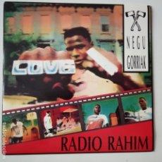 Discos de vinilo: NEGU GORRIAK- RADIO RAHIM - SINGLE 1990 - COMO NUEVO.. Lote 166982344