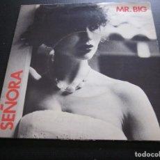 Discos de vinilo: MR.BIG - SEÑORA - SN - EDICION INGLESA DEL AÑO 1978.. Lote 166983540