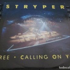 Discos de vinilo: STRYPER - FREE - CALLING ON YOU - SN - EDICION HOLANDESA DEL AÑO 1986.. Lote 166988748