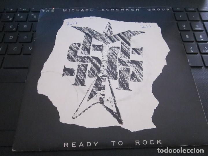 THE MICHAEL SCHENKER GROUP - READY TO ROCK - SN - EDICION INGLESA DEL AÑO 1986.CLEAR VINYL. (Música - Discos - Singles Vinilo - Heavy - Metal)