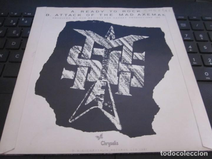 Discos de vinilo: THE MICHAEL SCHENKER GROUP - READY TO ROCK - SN - EDICION INGLESA DEL AÑO 1986.CLEAR VINYL. - Foto 2 - 166990588