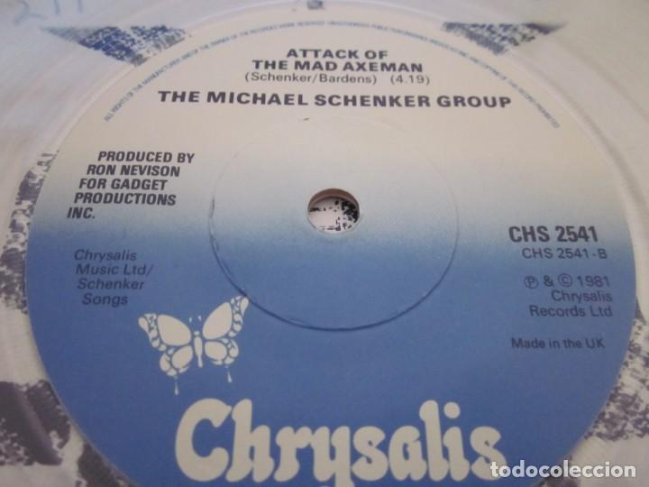 Discos de vinilo: THE MICHAEL SCHENKER GROUP - READY TO ROCK - SN - EDICION INGLESA DEL AÑO 1986.CLEAR VINYL. - Foto 5 - 166990588