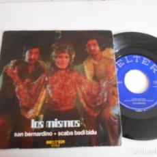 Discos de vinilo: LOS MISMOS-SINGLE SAN BERNARDINO. Lote 167006796