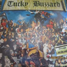 Discos de vinilo: TUCKY BUZZARD - ALLRIGHT ON THE NIGHT LP - ORIGINAL U.S.A. - PASSPORT RECORDS 1973 - STEREO -. Lote 167024096