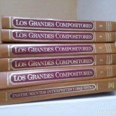 Discos de vinilo: LOS GRANDES COMPOSITORES SALVAT. Lote 167026628
