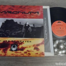 Discos de vinilo: MAGNUM - WINGS OF HEAVEN. Lote 167032756