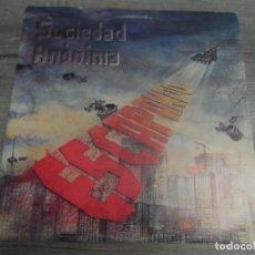 Discos de vinilo: SOCIEDAD ANÓNIMA - ESCAPANDO (PROMOCIONAL). Lote 167032872