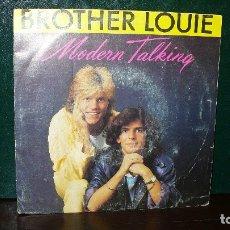 Discos de vinilo: MODERN TALKING - BROTHER LOUIE, WEA 1986.. Lote 167056320