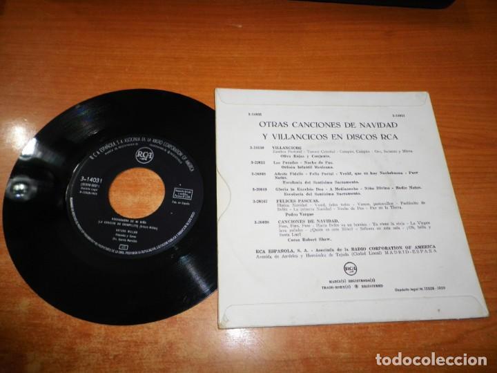 Discos de vinilo: ARTURO MILLAN Navidad / Nochebuena de mi niño SINGLE VINILO DEL AÑO 1969 ESPAÑA 2 TEMAS - Foto 2 - 167057536