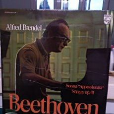 Discos de vinilo: A. BRENDEL, BEETHOVEN. PHILIPS 1973. Lote 167063228