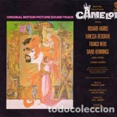 Discos de vinilo: LERNER & LOEWE / VANESSA REDGRAVE, RICHARD HARRIS - CAMELOT (ORIGINAL MOTION PICTURE SOUND TRACK) (L. Lote 167065200