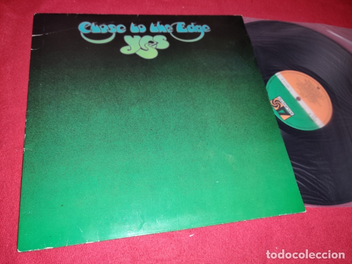 Yes close to the edge lp 1982 atlantic spain es - Sold