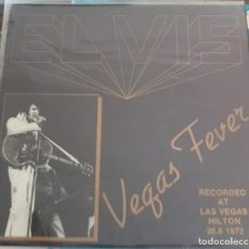 Discos de vinilo: ELVIS PRESLEY VEGAS FEVER - LP. Lote 167091602