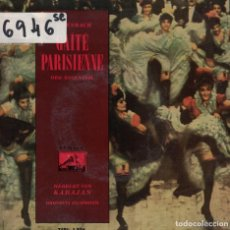 Discos de vinilo: OFFENBACH - GAITE PARISIENNE (ORQUESTA FILARMONIA, DR. VON KARAJAN). Lote 167102124