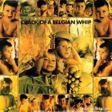 Discos de vinilo: VARIOS CRACK OF A BELGIAN WHIP 2 LP ELECTRONICA ROCK. Lote 167103304