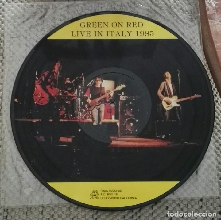 Discos de vinilo: Green On Red – Live In Italy 1985 picture vinyl - Foto 1 - 167108120
