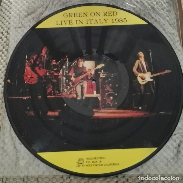 Discos de vinilo: Green On Red – Live In Italy 1985 picture vinyl - Foto 2 - 167108120