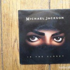 Discos de vinilo: MICHAEL JACKSON - IN THE CLOSET (7PULGADAS EDIT) + IN THE CLOSET (THE MISSION RADIO EXIT). Lote 167118248