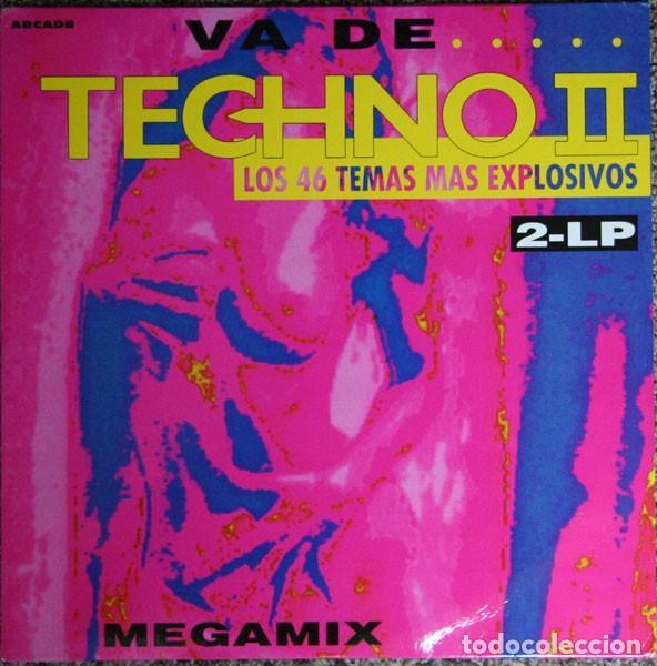 VA DE TECHNO 2 DOBLE LP (Música - Discos - LP Vinilo - Techno, Trance y House)