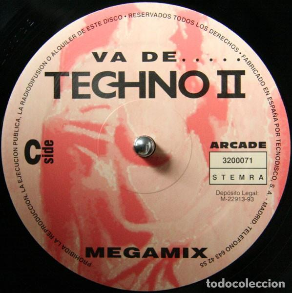 Discos de vinilo: va de techno 2 doble lp - Foto 3 - 167127948