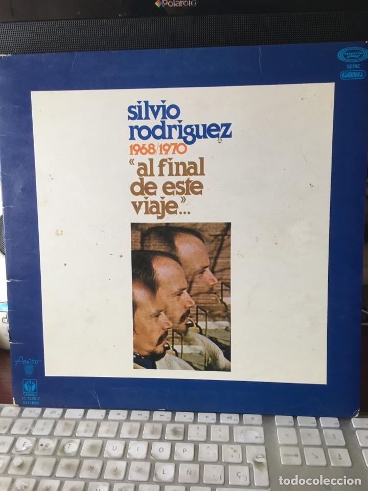 Discos de vinilo: SILVIO RODRIGUEZ-1968/1970-AL FINAL DE ESTE VIAJE-1978-PRIMERA EDICION 17.1288/7-RARO - Foto 2 - 167128826