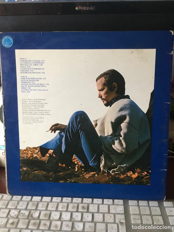 Discos de vinilo: SILVIO RODRIGUEZ-1968/1970-AL FINAL DE ESTE VIAJE-1978-PRIMERA EDICION 17.1288/7-RARO - Foto 3 - 167128826