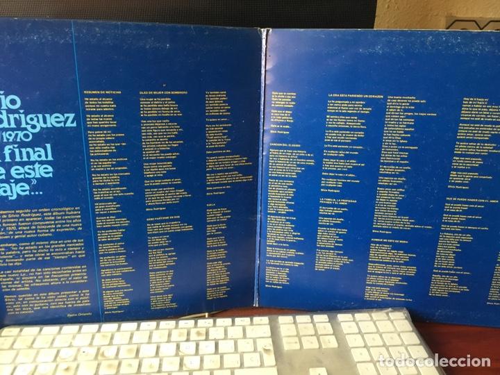 Discos de vinilo: SILVIO RODRIGUEZ-1968/1970-AL FINAL DE ESTE VIAJE-1978-PRIMERA EDICION 17.1288/7-RARO - Foto 4 - 167128826