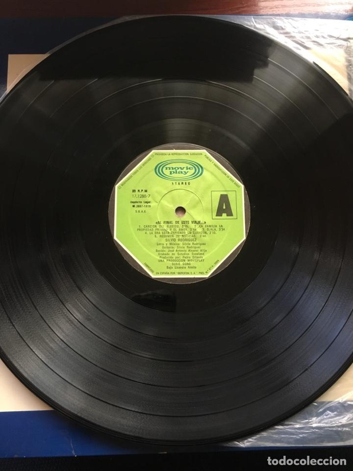 Discos de vinilo: SILVIO RODRIGUEZ-1968/1970-AL FINAL DE ESTE VIAJE-1978-PRIMERA EDICION 17.1288/7-RARO - Foto 8 - 167128826