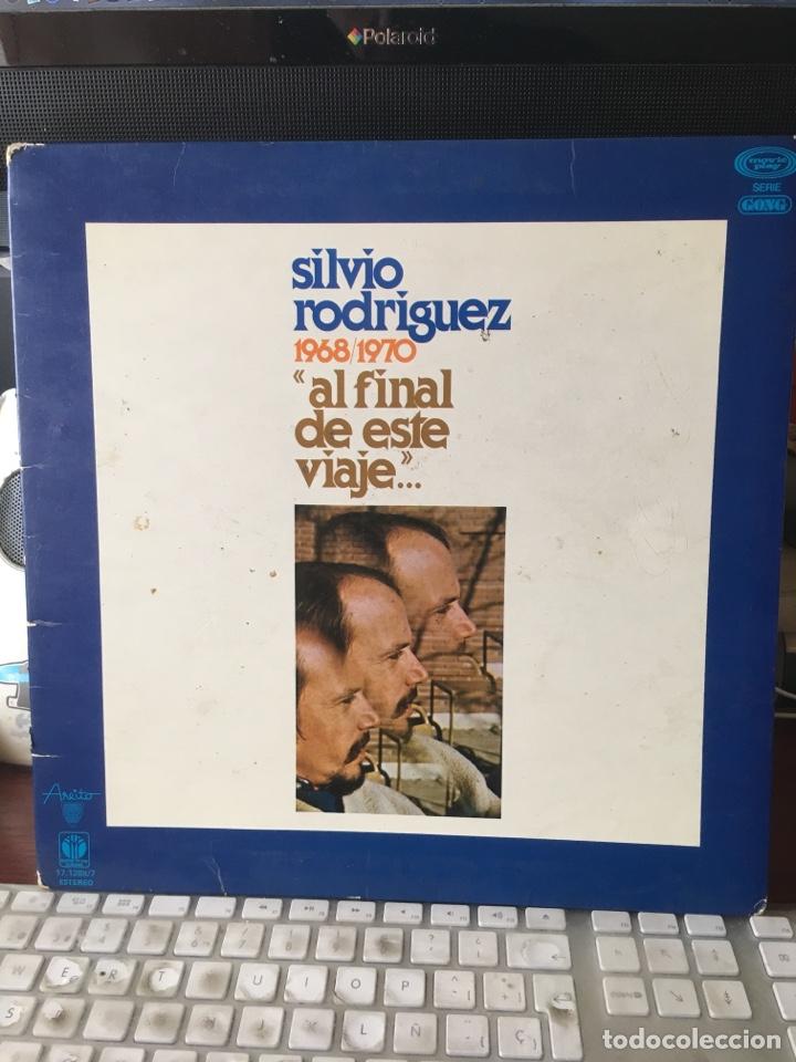 SILVIO RODRIGUEZ-1968/1970-AL FINAL DE ESTE VIAJE-1978-PRIMERA EDICION 17.1288/7-RARO (Música - Discos - LP Vinilo - Grupos y Solistas de latinoamérica)