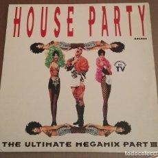Discos de vinilo: 2 LP YOUSE PARTY ULTIMATE MEGAMIX PART 3 DIFICILISIMO EN VINILO 2LP. Lote 167129300