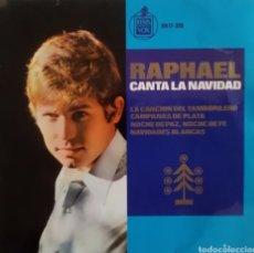 Discos de vinilo: RAPHAEL-CANTA LA NAVIDAD. Lote 167129693