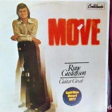 Discos de vinilo: LP VINILO RUNE GUSTAFSSON : MOVE , JAZZ/ROCK GUITAR, 1980 EDICIÓN ESPAÑOLA, EN MUY BUEN ESTADO. Lote 167130148