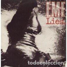 Discos de vinilo: EMF LIES. MAXI IMPORTACION. Lote 167130420