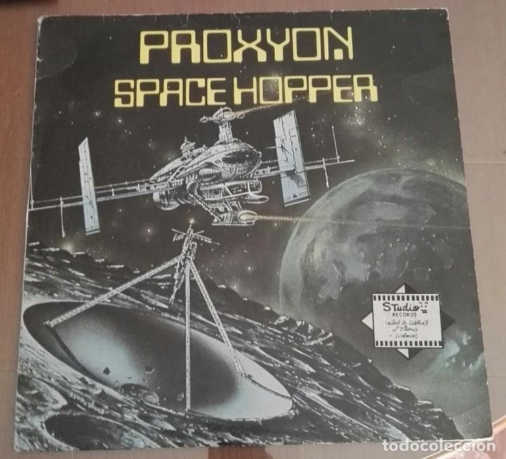 PROXYON – SPACE HOPPER ELECTRO DISCO MAXI 12 (Música - Discos de Vinilo - Maxi Singles - Electrónica, Avantgarde y Experimental)