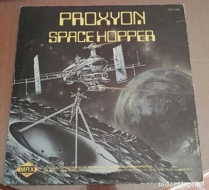 Discos de vinilo: Proxyon – Space Hopper ELECTRO DISCO MAXI 12 - Foto 2 - 167131164