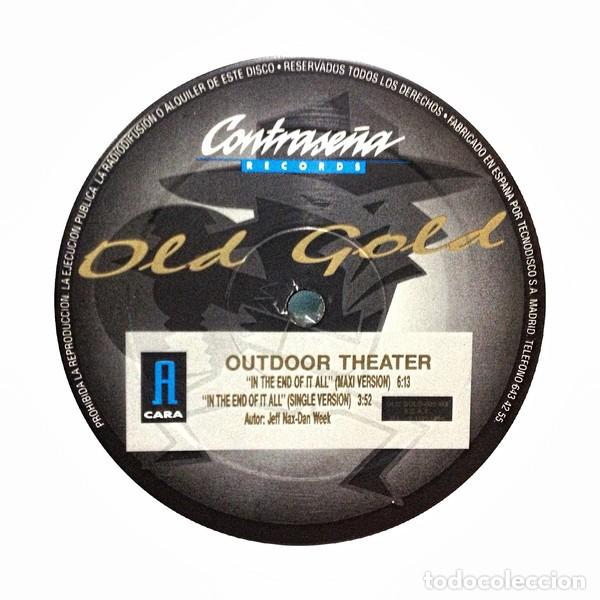 Discos de vinilo: OUTDOOR THEATER MAXI 12 - Foto 2 - 167131708