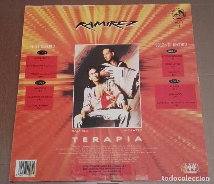 Discos de vinilo: RAMIREZ TERAPIA 2 LP EDICION ESPECIAL - Foto 2 - 167126660