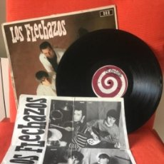 Discos de vinilo: LOS FLECHAZOS PREPARADOS LISTOS YA 1991 DRO 4D0829 LP 12 CANCIONES VER FOTOS. Lote 167138076