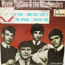 Discos de vinilo: SINGLE WAYNE FONTANA & THE MINDBENDERS - THE GAME OF LOVE - AÑO 1965. Lote 167143184