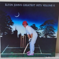 Discos de vinilo: ELTON JOHN - GREATEST HITS VOLUME II D J M - 1986 . Lote 167150880