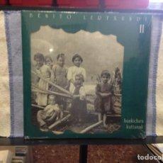 Dischi in vinile: BENITO LERTXUNDI - HUNDIKURA KATTUNAK II / CAJA CON TRES LPS MAS LIBRETO. NUEVA PRECINTADA . Lote 167154720