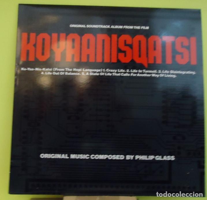 LP Philip Glass – Koyaanisqatsi (Original Soundtrack Album From The Film)