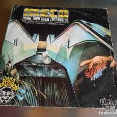 Discos de vinilo: MECO - ENCUENTROS EN LA TERCERA FASE -, SG, THEME FROM CLOSE ENCOUNTERS + 1, AÑO 1978. Lote 167156044