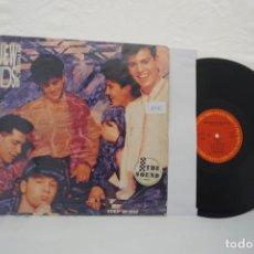 Discos de vinilo: VINILO LP - NEW KIDS ON THE BLOCK STEP BY STEP / COLUMBIA. Lote 167165348