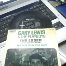 Discos de vinilo: GARY LEWIS & THE PLAYBOYS SINGLE THE LOSER ESPAÑA 1967. Lote 167170394