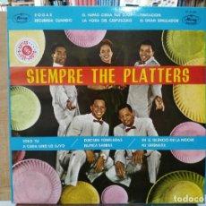 Discos de vinilo: THE PLATTERS - SIEMPRE THE PLATTERS - LP. DEL SELLO MERCURY 1962. Lote 167242068