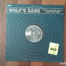 Dischi in vinile: OPERA-WOLF'S GANG.MAXI. Lote 167242524
